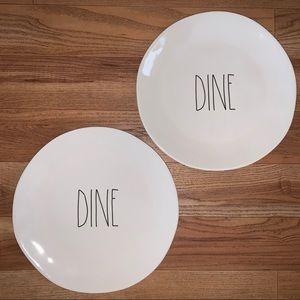 Dine plates for @strawberrythrds